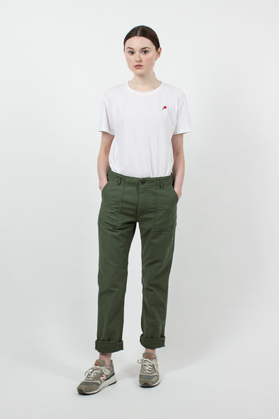 Slim Fit Green Fatigue