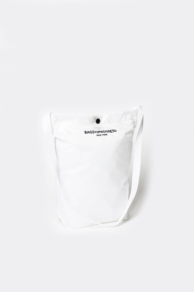 B.I.P Ripstop White Shoulder Sling Bag