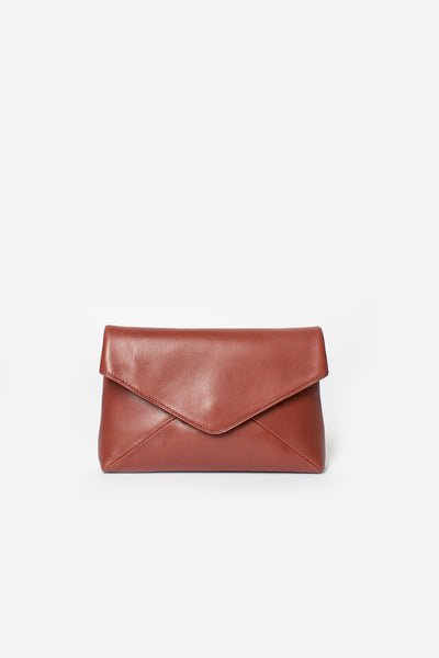 Mini Leather Envelope Bag