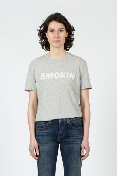 Grey 'SMOKIN' Boy T