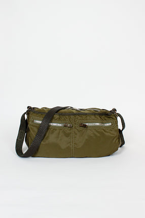 SP06 Dark Green Expandable Bag