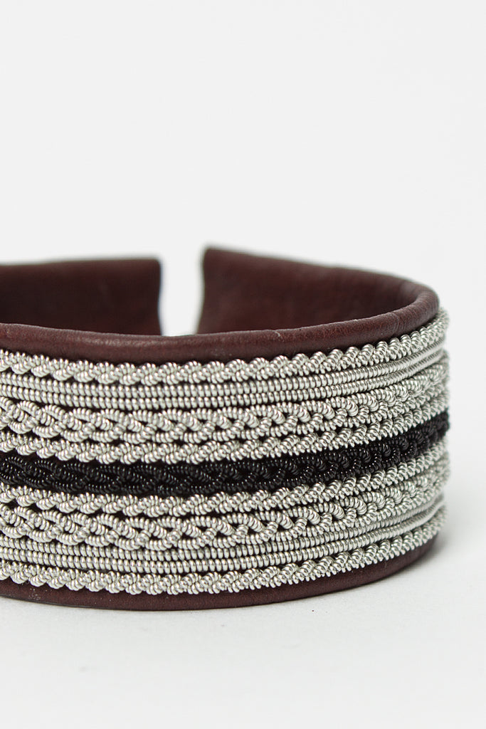 Brown/Black Braids Bracelet