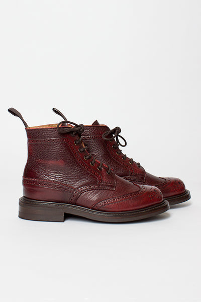 Stephy Sign Kudu Brogue Boot