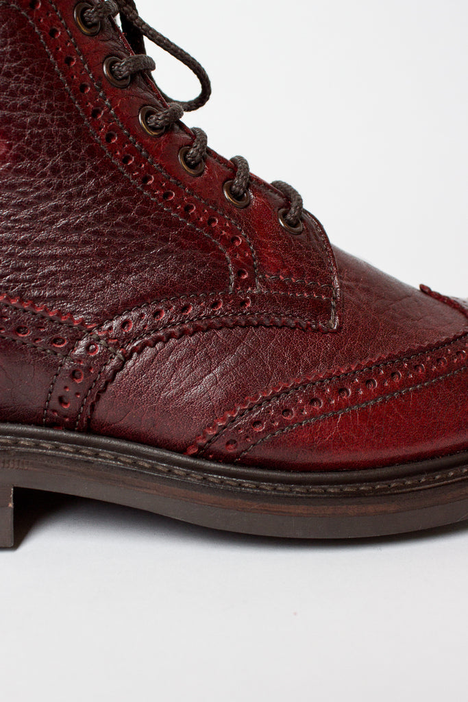 Stephy Kudu Brogue Boot