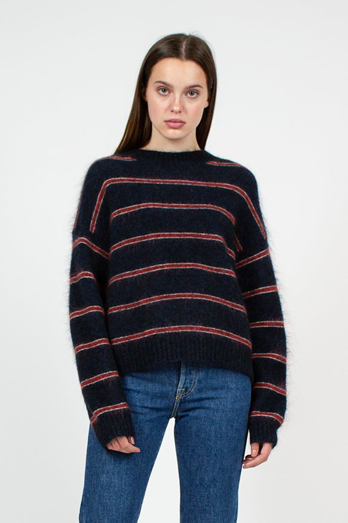 Striped Khira Crewneck