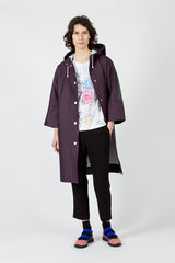 Plum/Forest Stutterheim X Marni Raincoat