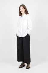 Wide Leg Trouser With Bow Pockets