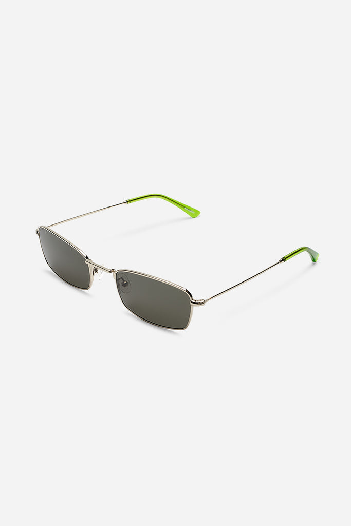 E40 Silver/ Gremlin Green Sunglasses