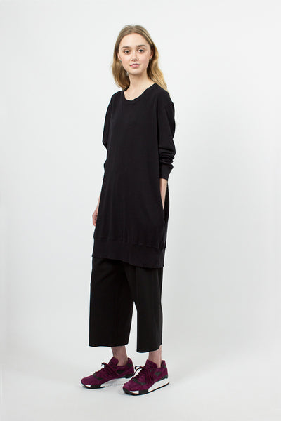 Sweat Tunic Black