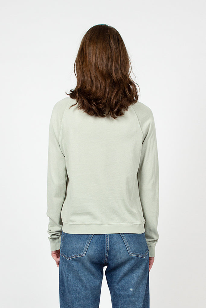Green Tea Organic Cotton Crewneck Sweatshirt