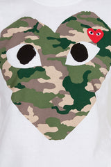 PLAY Camouflage Heart T-Shirt