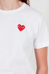 PLAY Camouflage Edge Heart T-Shirt