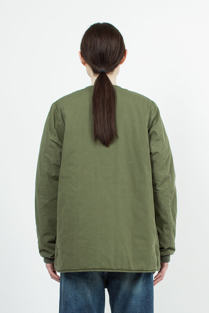 Khaki Green Gi Poplin Military Jacket