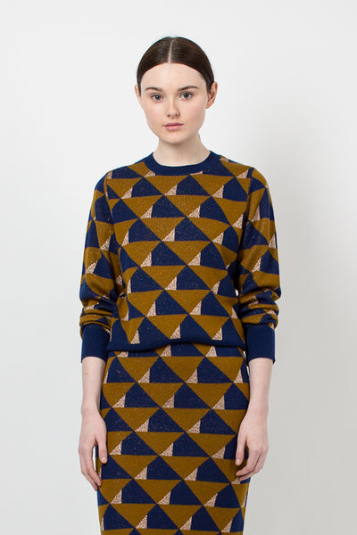 Tamara Ochre Sweater