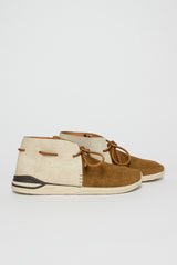 Brown Huron Moc-Folk Sneaker