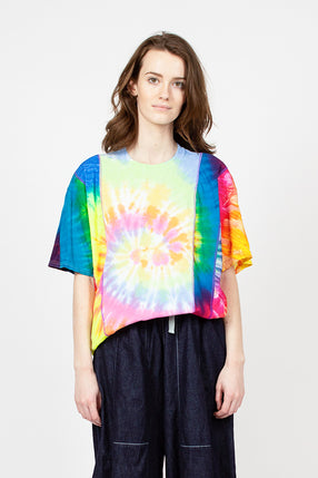 Rebuild Five Cuts Tie Dye Tee M