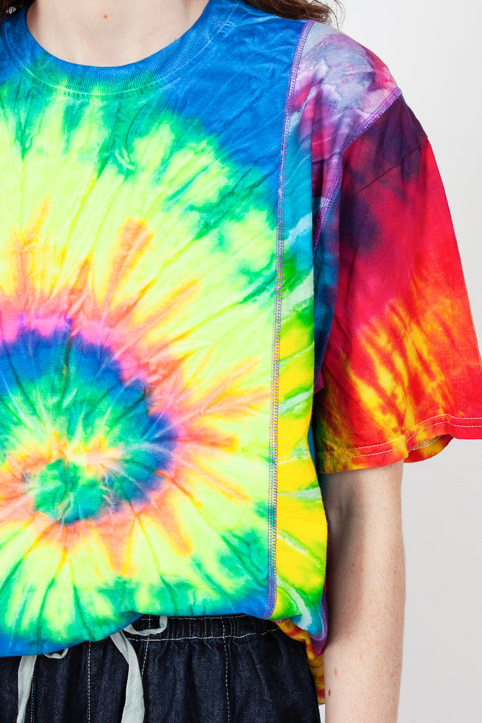 Rebuild Five Cuts Tie Dye Tee S