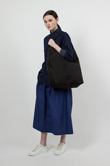 Black Pack Cloth Carry All Tote