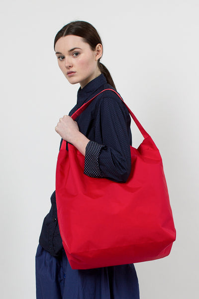 Red Pack Cloth Carry All Tote