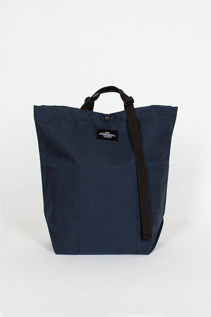 B.I.P Navy Canvas Tote Bag