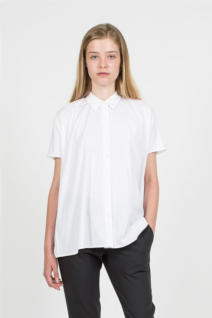 Trapeze Shirt White