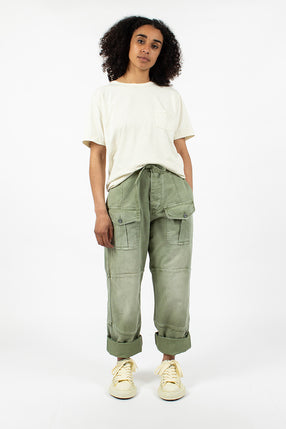 P-52 Race Pant Washed Army