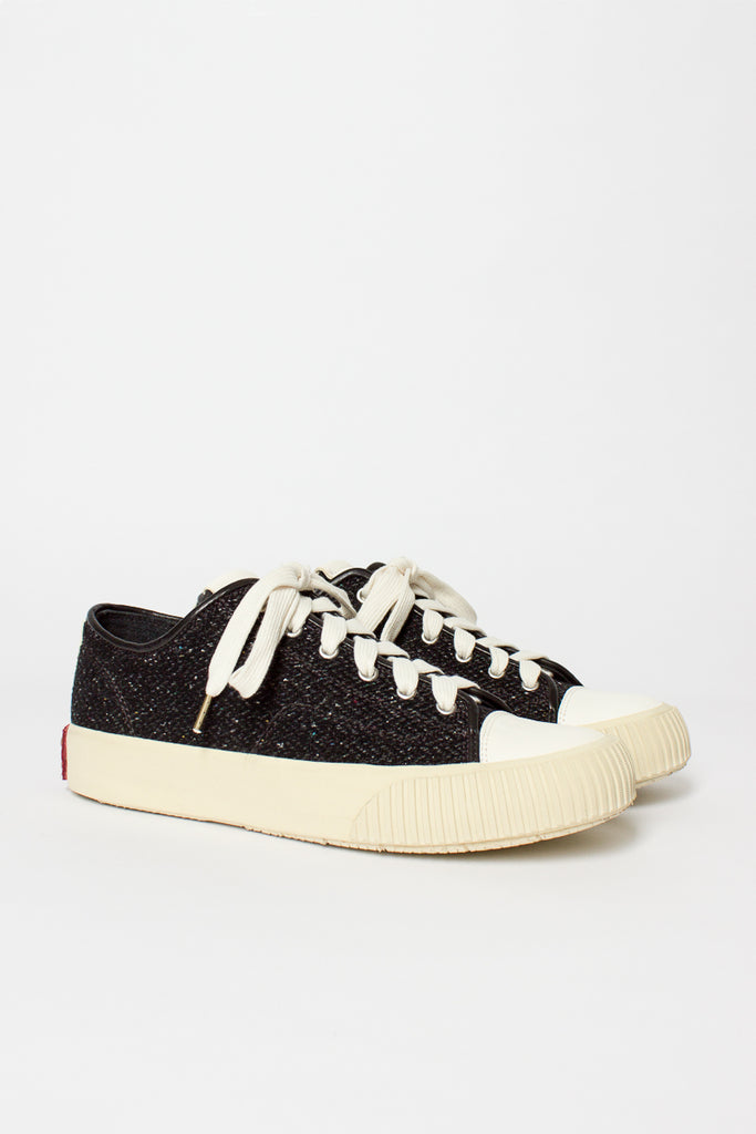 Black Tweed Skagway Lo-Folk Sneaker