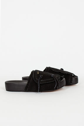 Black Christo Shaman Sandal