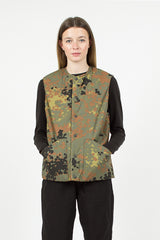 Khaki/Dot Camo Reversible Shell Vest