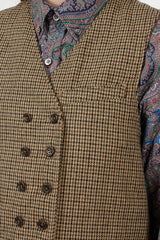 Gunclub Check Reversible Vest