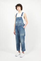 Vintage Wash Denim Overalls