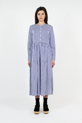 Vivian Tiered Shirt Dress