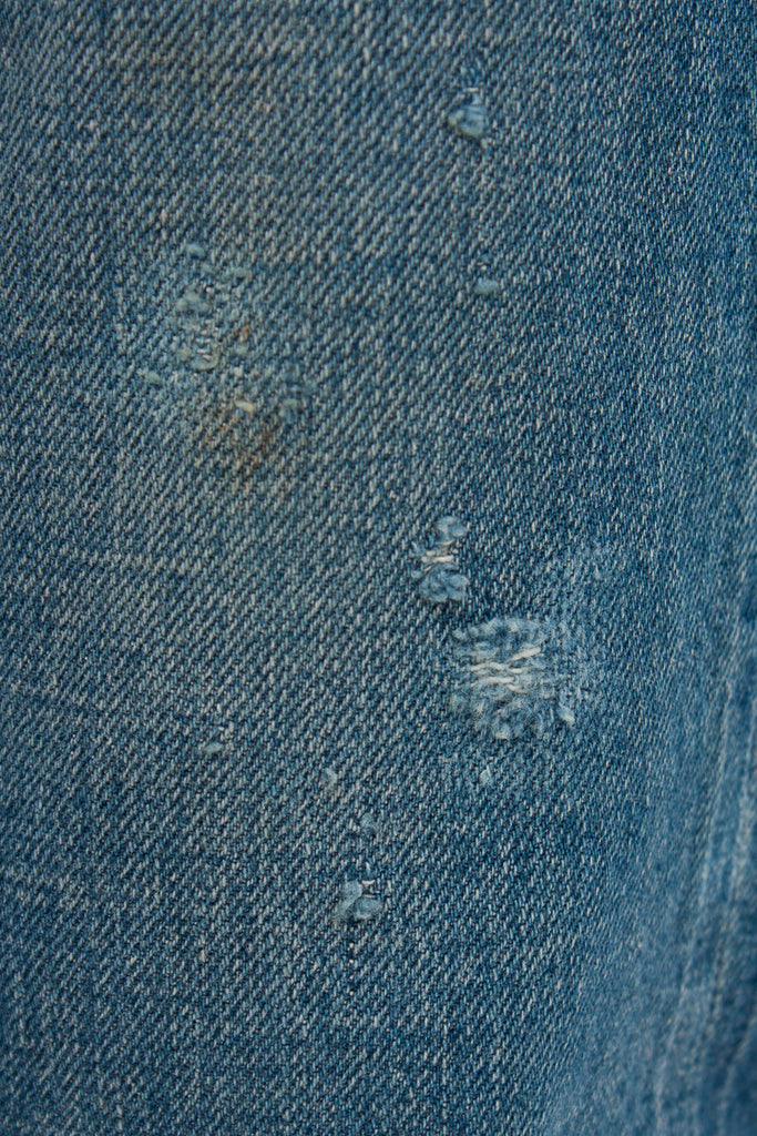 13.5oz Used Medium Repair Jean
