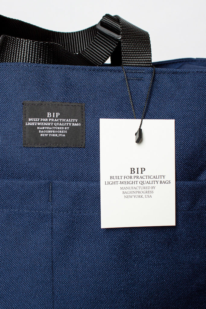 B.I.P Navy Weekend Zip Tote Bag