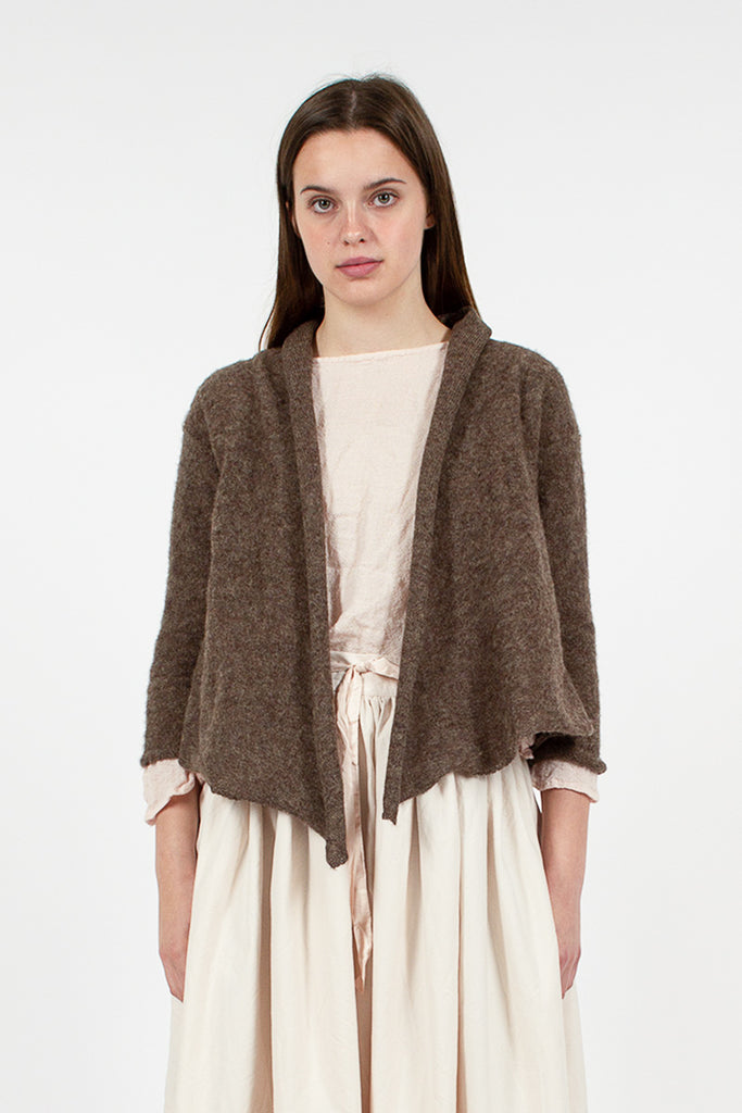 Natural Wrap Cardigan