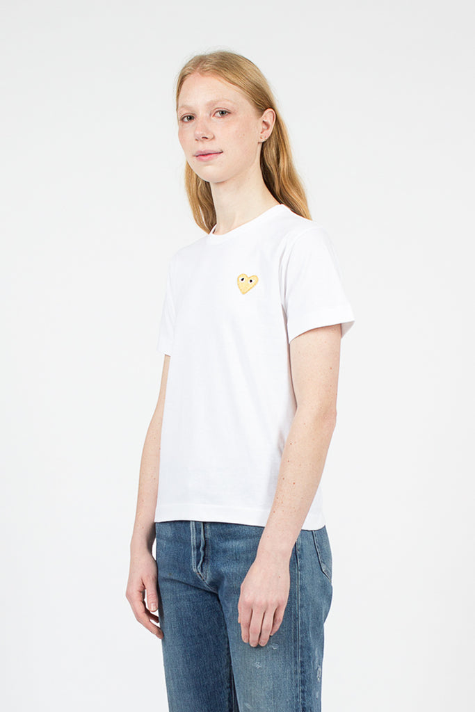 PLAY White/Gold T-Shirt