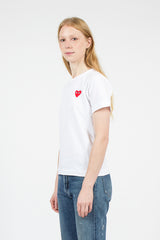 PLAY White/Red T-Shirt