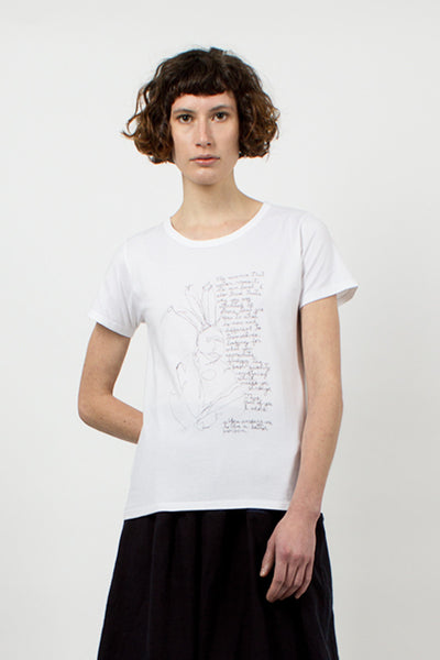 White Ultimate Message T-Shirt