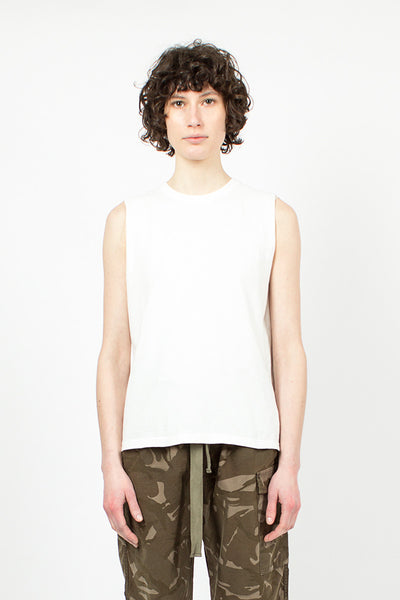 Sleeveless T-Shirt Off White