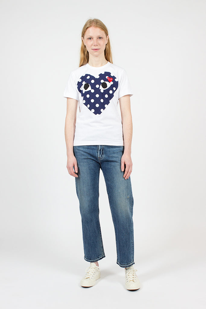 PLAY Polka Dot Big Heart T-Shirt