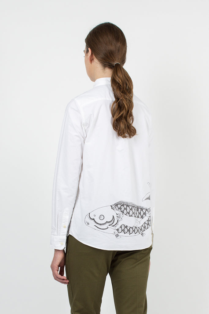 White KOI Shirt