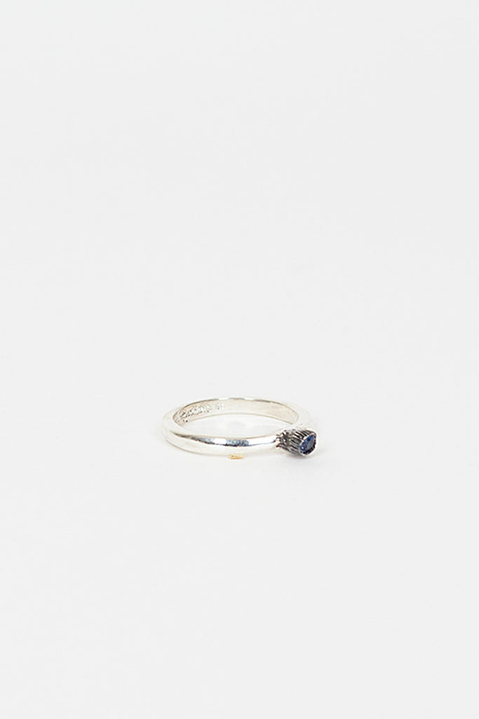 Wita Silver/Blue Sapphire Ring