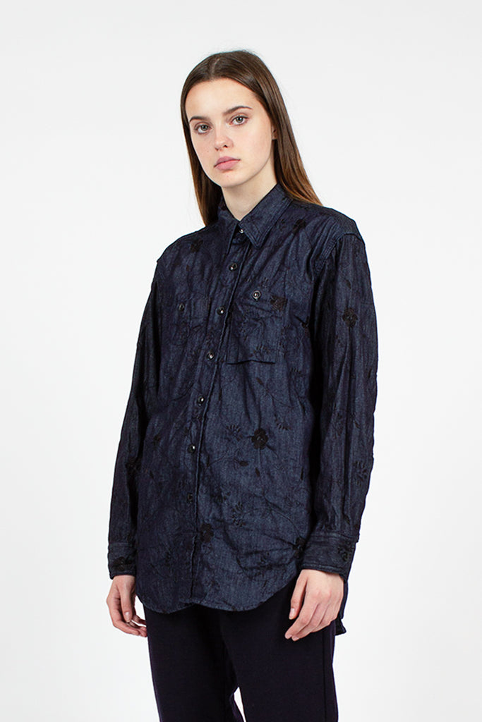 Indigo Work Shirt