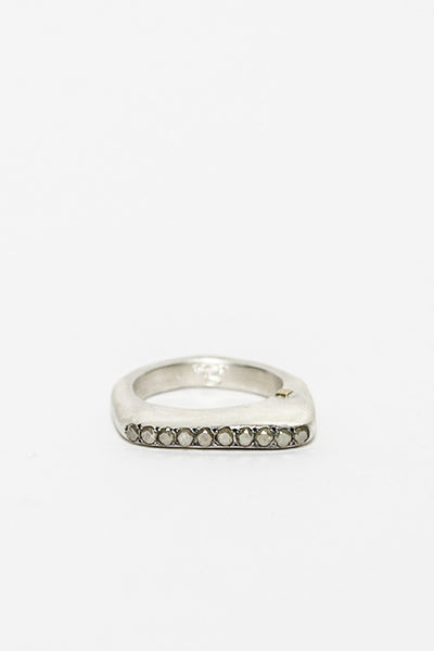 Oxidised Zakia Ring
