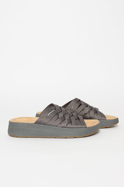 Charcoal Grey/Tan Zuma Sandal