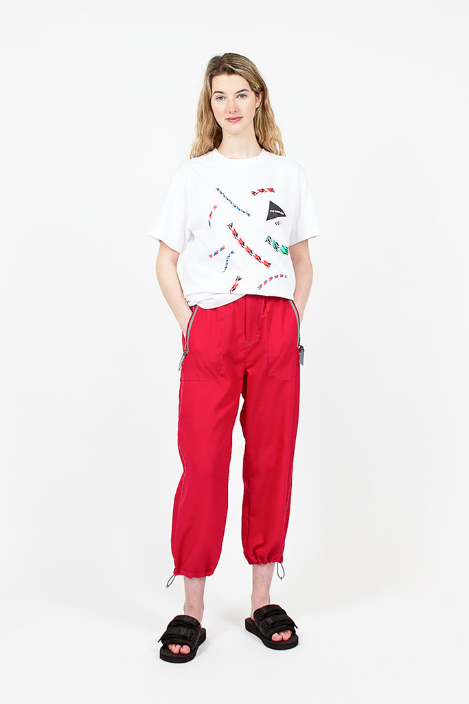 Red Vent Pants