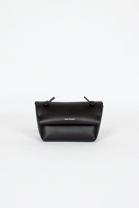 Knotted Strap Bag Black
