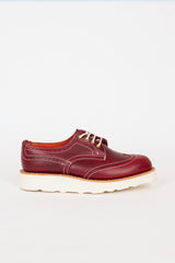 Anne Lollipop Red Derby Brogue