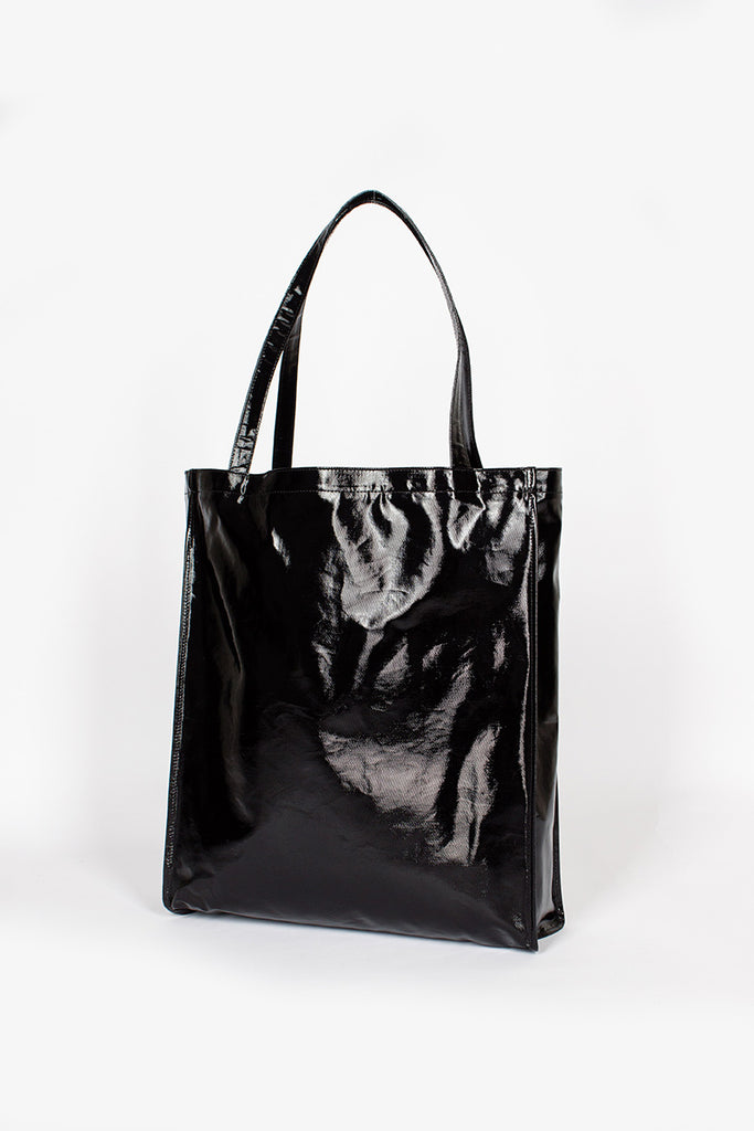 Oilcloth Tote Shopper Black