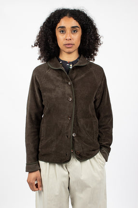 Beach Jacket Dark Olive
